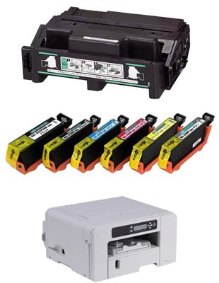 リサイクルトナー&インク&バッテリーイメージ